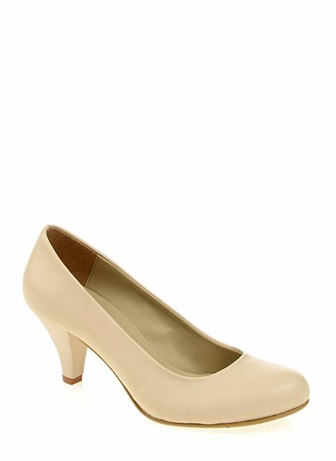 Derigo Topuklu Ayakkabı Bej